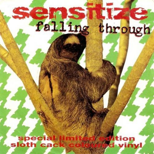 SENSITIZE Falling Through Vinyl Record 7 Inch Food 1992